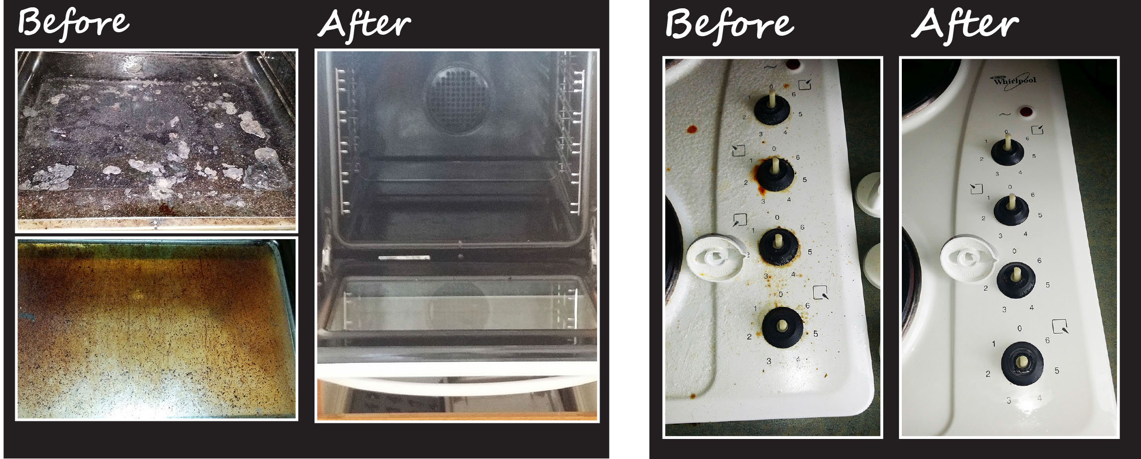 how to clean stove oven